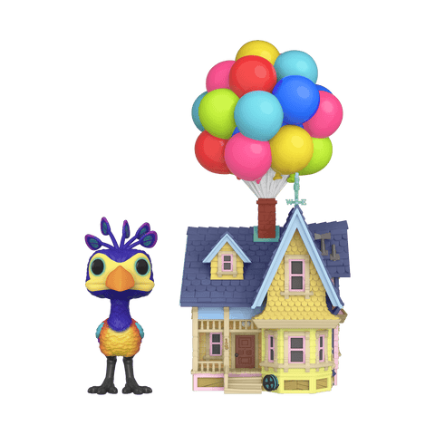"Up! Funko Pop! Kevin with Up House 10"" (Shared Sticker) #05"