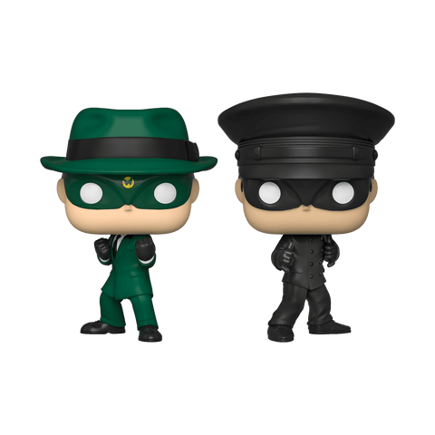The Green Hornet Funko Pop! The Green Hornet and Kato 2-Pack (No Weapons 2019) (Shared Sticker)