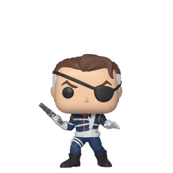 Marvel Funko Pop! Nick Fury (First Appearance) (Shared Sticker)