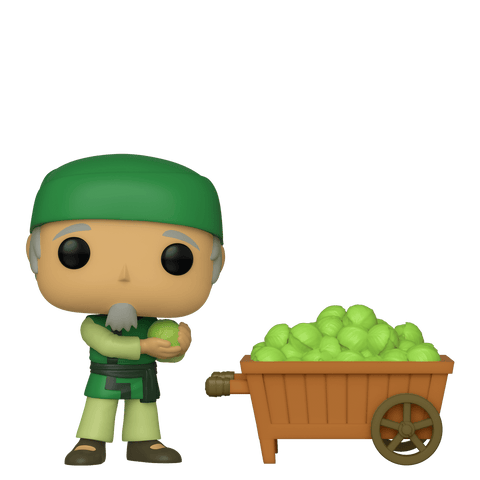 Avatar: The Last Airbender Funko Pop! Cabbage Man & Cart (2-pack) (Shared Sticker) #656