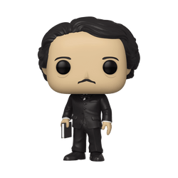 Icons Funko Pop! Edgar Allan Poe (with Book) (Shared Sticker) #22