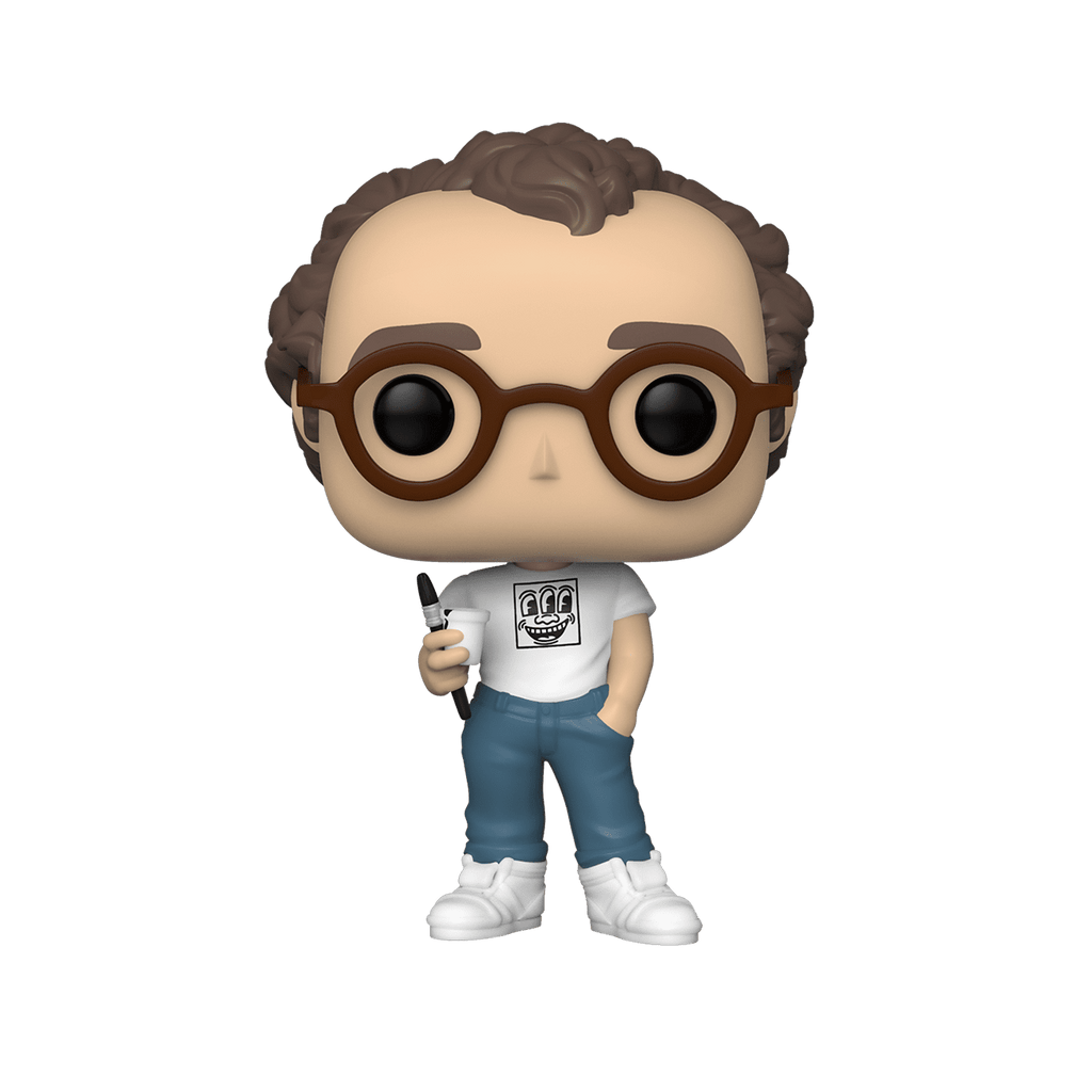 Artists Funko Pop Keith Haring Shared Sticker 01 Big