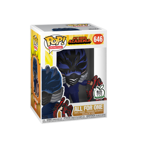 My Hero Academia Funko Pop! All For One (Battle Hand) (Big Apple Exclusive) #646