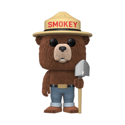 Ad Icons Funko Pop! Smokey Bear (Flocked) (Pre-Order)