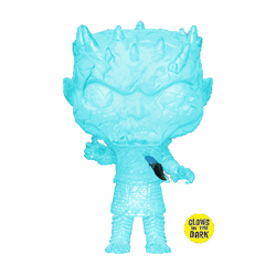Game of Thrones Funko Pop! Crystal Night King (Dagger in Chest) (GITD) (Pre-Order)