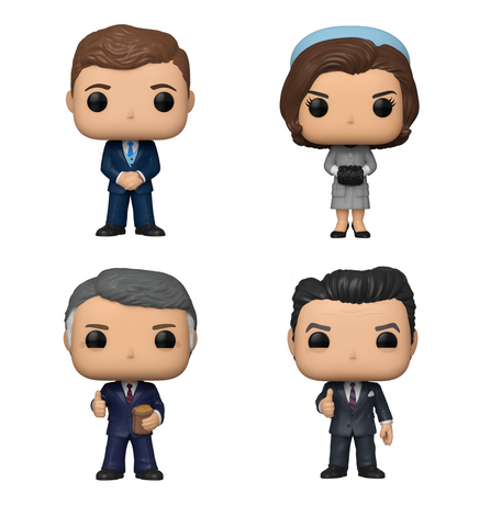 American History Funko Pop! Complete Set of 4 (Pre-Order)