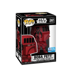 Star Wars Funko Pop! Boba Fett (Futura Wondercon Burgundy) (Shared Sticker) #297 (Pre-Order)