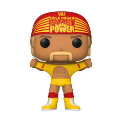 WWE Funko Pop! Hulk Hogan (Yellow Shirt Python Power) (Pre-Order)