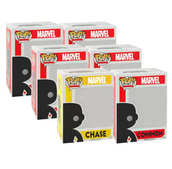 Marvel CHASE and 5 Different Commons Funko Pop! Mystery Box