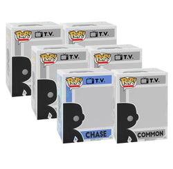 Television CHASE and 5 Different Commons Funko Pop! Mystery Box