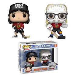 Wayne's World Funko Pop! Wayne & Garth (Hockey) (2-Pack)