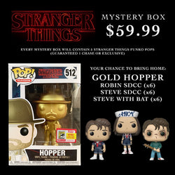 Big Apple Collectibles ~ Stranger Things ~ Ready for Summer!  ~ Mystery Box - FREE Shipping!