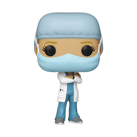 Front Line Workers Funko Pop! Female Hospital Worker (Teal Scrubs) (Pre-Order)