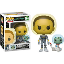 Rick and Morty Funko Pop! Space Suit Morty (with Snake) #690