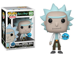 Rick and Morty Funko Pop! Rick (with Crystal Skull) #692