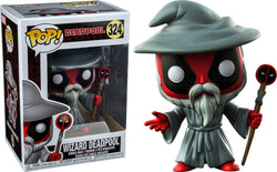 Deadpool Funko Pop! Wizard Deadpool #324