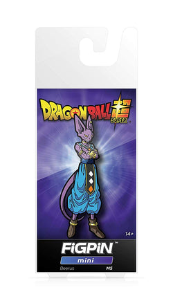 Dragon Ball Super FiGPiN Mini Beerus #M5