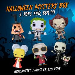 Big Apple Collectibles Funko ~ Halloween Mystery Box ~ Mystery Box - FREE Shipping!
