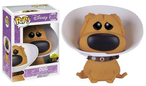Up Funko Pop! Dug with Cone of Shame (Toy Tokyo Sticker)
