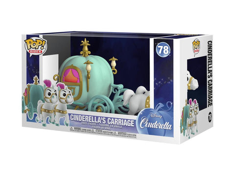 Cinderella Funko Pop! Rides Cinderella s Carriage #78