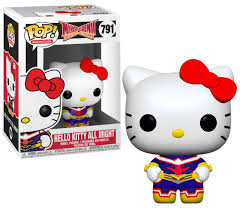 Sanrio Hero Academia Funko Pop! Hello Kitty All Might #791