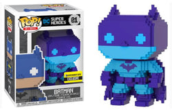 8-Bit Funko Pop! Batman (Blue & Purple) #01