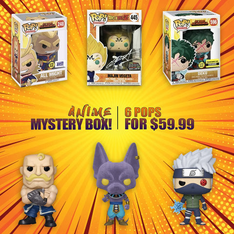 Big Apple Collectibles Funko ~ Anime Month 2020 ~ Mystery Box