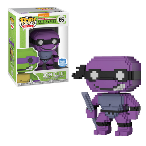 8-Bit Funko Pop! Donatello (Neon) #06
