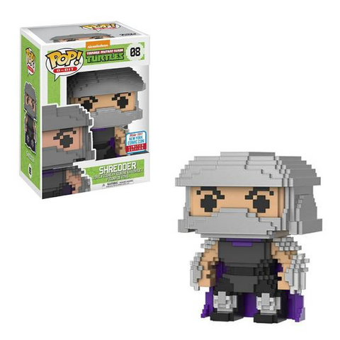 8-Bit Funko Pop! Shredder (Shared Sticker) #08