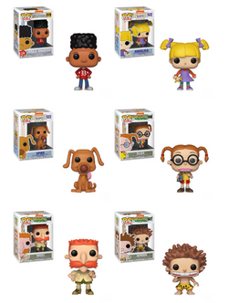90's Nicktoons Funko Pop! Complete Set of 6 (Pre-Order)