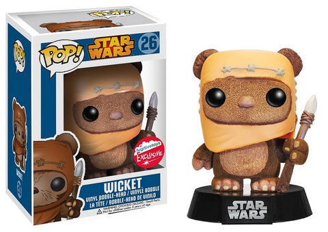 Star Wars Funko Pop! Wicket (Flocked) #26