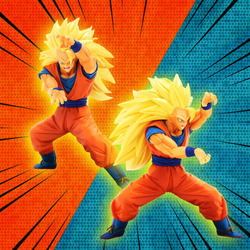 Dragon Ball Z Banpresto Super Saiyan 3 Son Goku (Chosenshiretsuden Vol. 4) 6in Figure