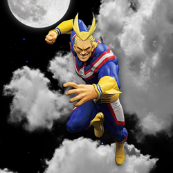My Hero Academia Banpresto All Might (The Amazing Heroes Vol 5.) 8in Figure