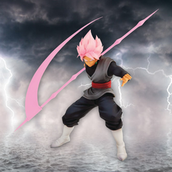 Dragon Ball Z Banpresto Goku Black Super Saiyan Rose (WFC2 Vol. 9) 6in Figure