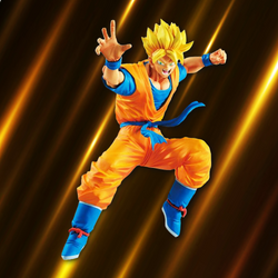 Dragon Ball Z Banpresto Super Saiyan Gohan (Legends Collab) 8in Figure