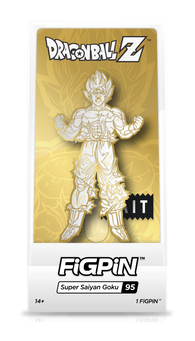 Dragon Ball Z FiGPiN Super Saiyan Goku #95