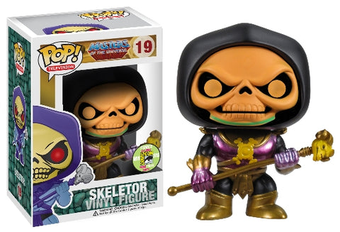 Masters of the Universe Funko Pop! Skeletor (Metallic) #19