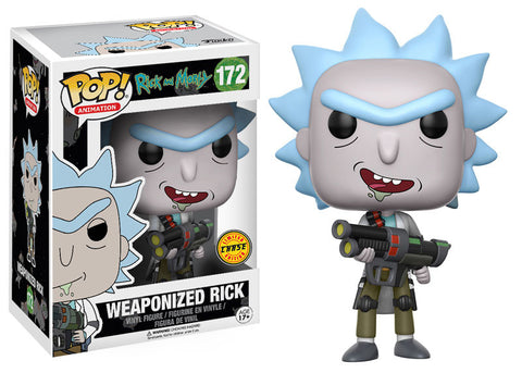 Rick and Morty Funko Pop! Weaponized Rick CHASE #172