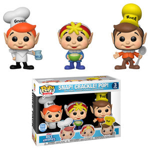 Ad Icons Funko Pop! Snap! Crackle! Pop!