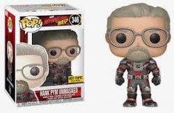 Ant-Man and the Wasp Funko Pop! Hank Pym Unmasked #346