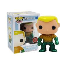 DC Super Heroes Funko Pop! Aquaman (Metallic) (LE240) #16