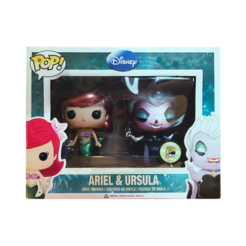 Disney Funko Pop! Ariel & Ursula (Metallic) (2-Pack)