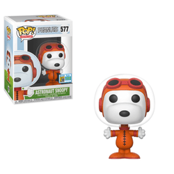 Peanuts Funko Pop! Astronaut Snoopy (Shared Sticker) #577 (Pre-Order)