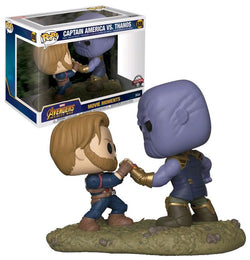 Avengers Infinity War Funko Pop! Captain America Vs. Thanos (Movie Moment) #698