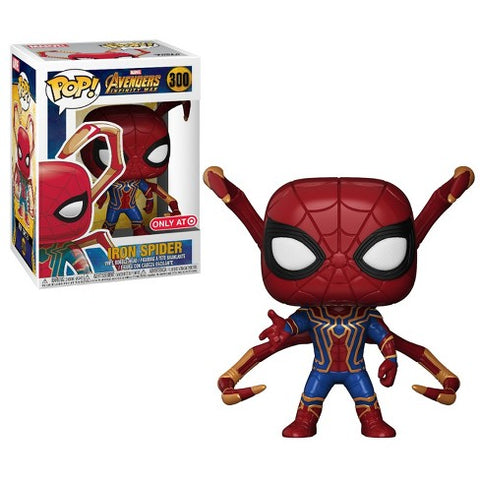 Avengers Infinity War Funko Pop! Iron Spider (Target Exclusive) #300