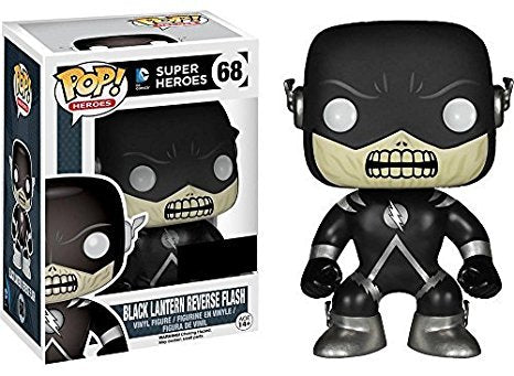 DC Super Heroes Funko Pop! Black Lantern Reverse Flash #68
