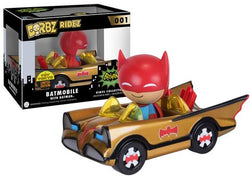 Batman Funko DORBZ Batmobile with Batman (Gold) #001