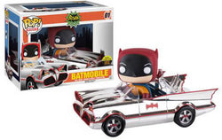 Batman Funko Pop! Batmobile (Chrome) #01