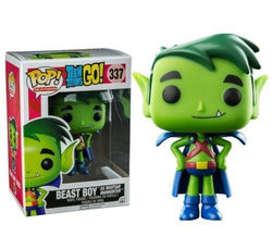 Teen Titans Funko Pop! Beast Boy as Martian Manhunter #337