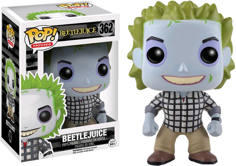 Beetlejuice Funko Pop! Beetlejuice (Plaid Shirt)